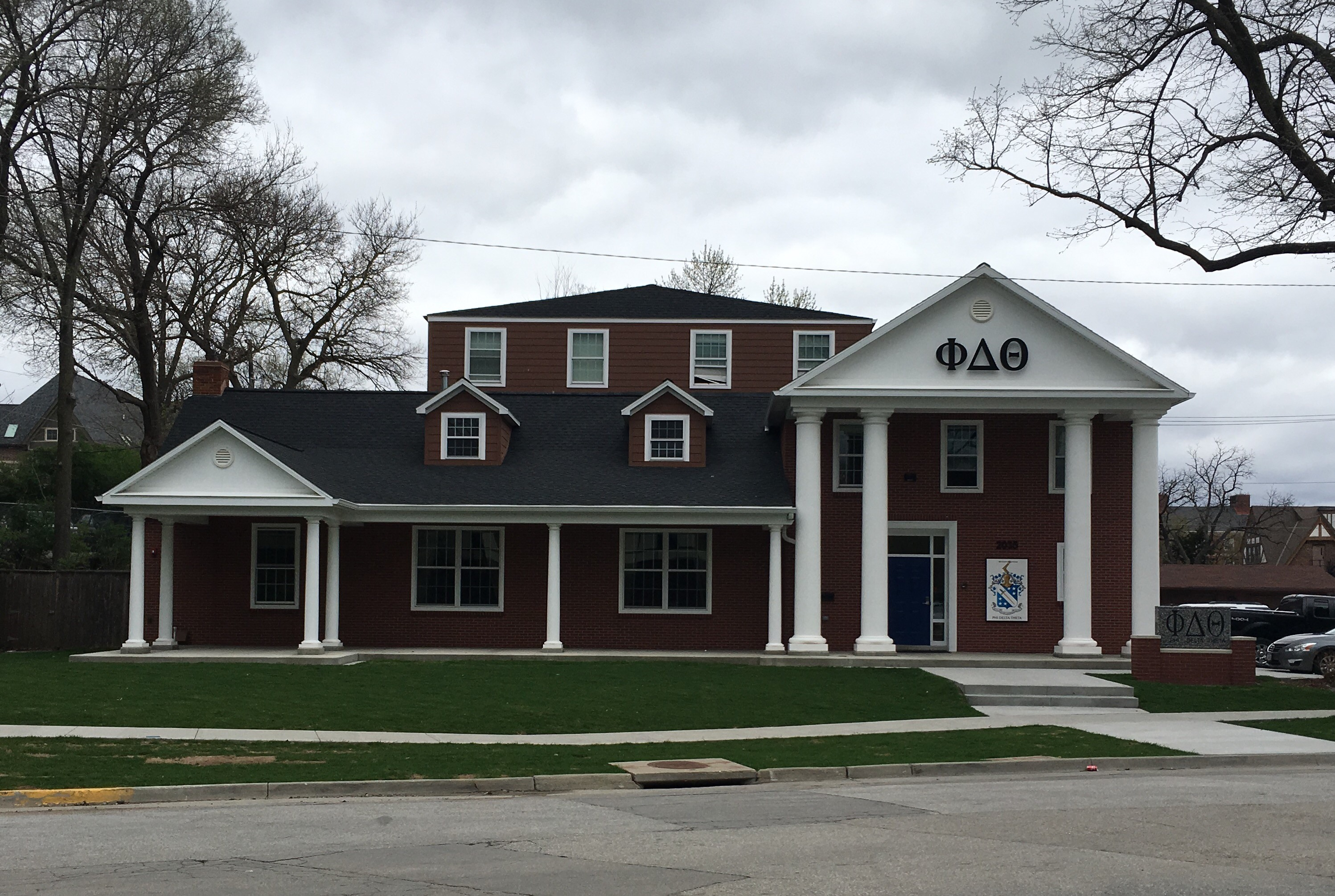 House Plan Maker Phi Delta Theta Iowa Gamma Office Of Sorority And